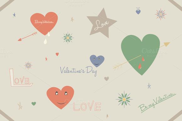 Valentine S Day Doodles