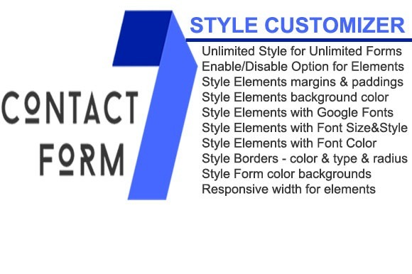 Contact Form 7 Style Customizer