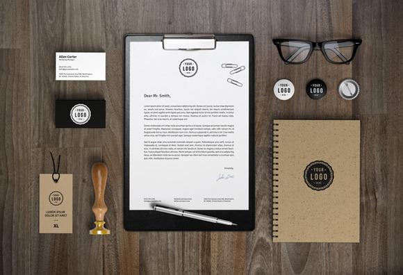 Branding MockUp Paper