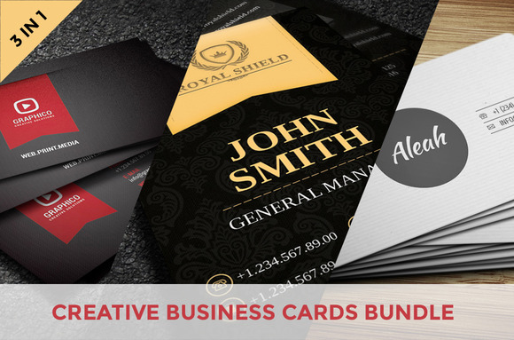 Creative Business Cards Bundle Vol.1