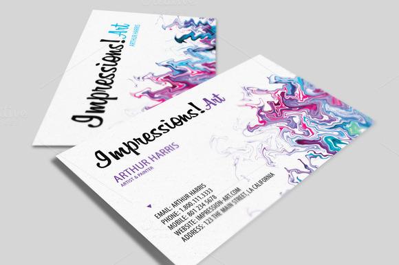 Artistic Business Card V.2