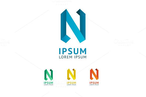 Vector Letter N Logo