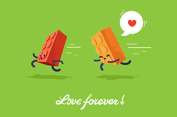 Vector Fnny Illustration For Lovers