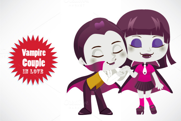 Vampire Couple In Love