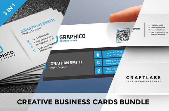 Creative Business Cards Bundle Vol.2