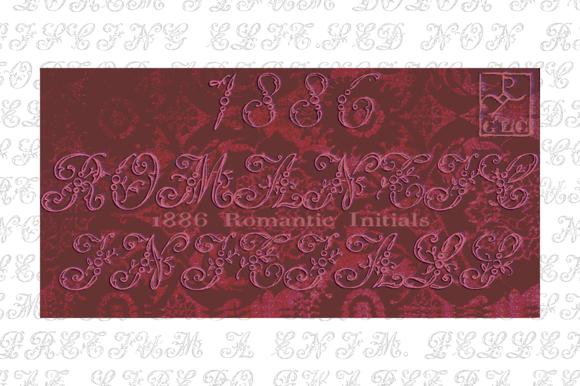 1886 Romantic Initials OTF