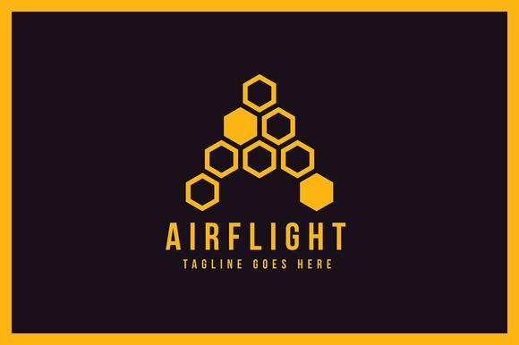 AirFlight Logo Template