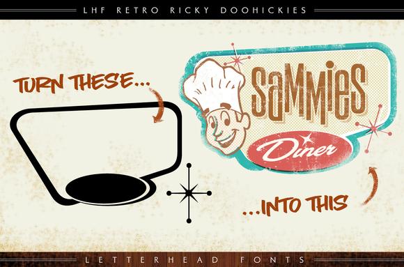 LHF Retro Ricky Doohickies