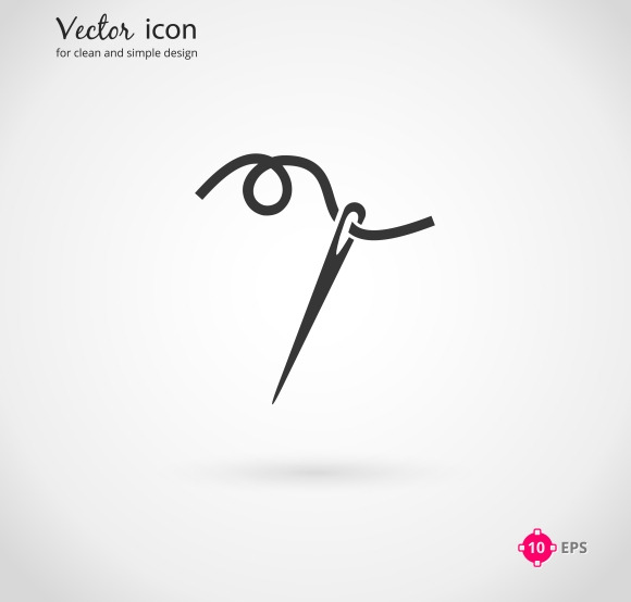 Needle And Thread Icon