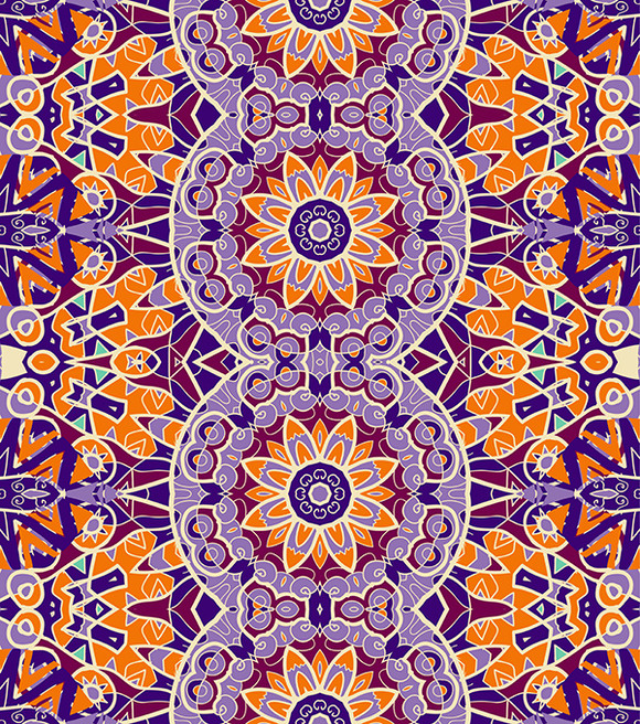 Ornamental Wallpaper Stylized