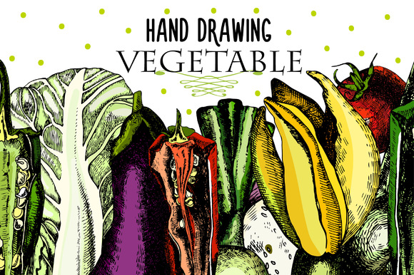 Beautiful Vegetables For Your Design