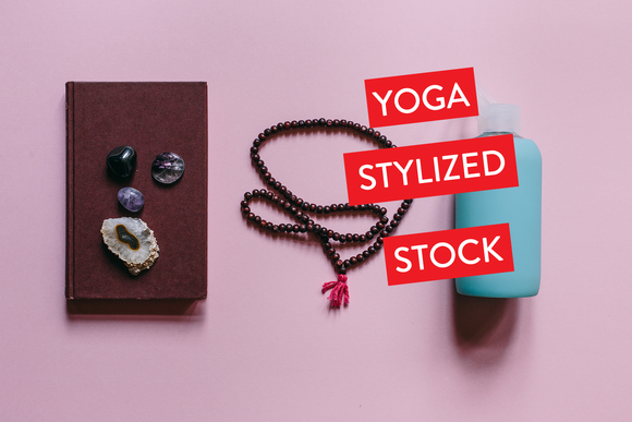 Yoga Pink Styled Stock Collection