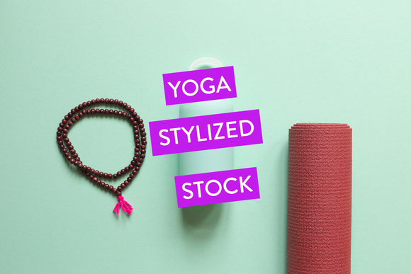 Green Yoga Styled Stock Collection