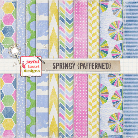 Springy {patterned} 20% Off