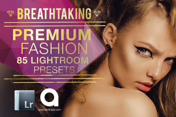Fashion Portrait Lightroom Presets