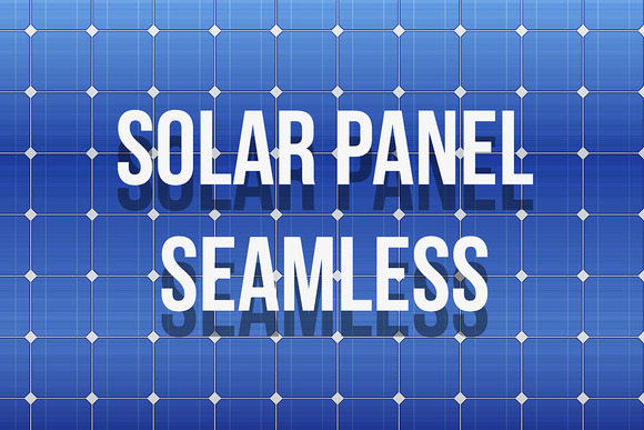 Solar Panel Seamless Texture