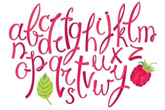 Berry Alphabet