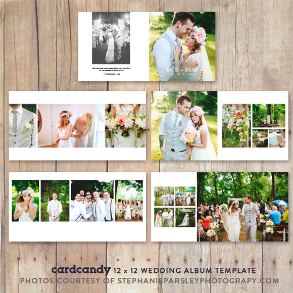 Wedding Album Mockup Template 12x12