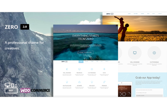Zero Multi-Purpose WordPress Theme