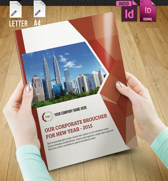 InDesign Brochure-18 Pages