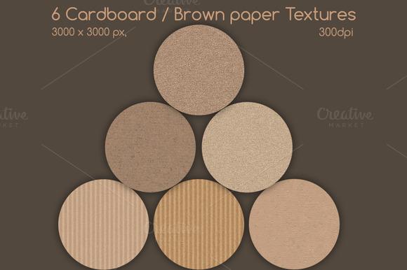Cardboard Brown Paper Textures