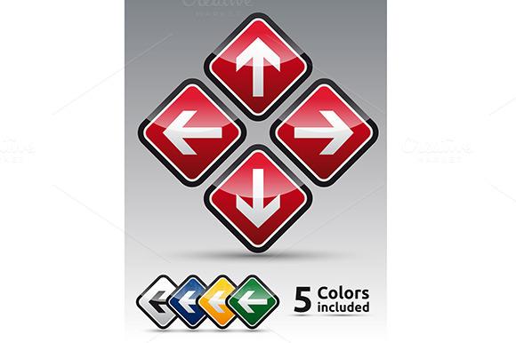 Arrow Set Multicolor