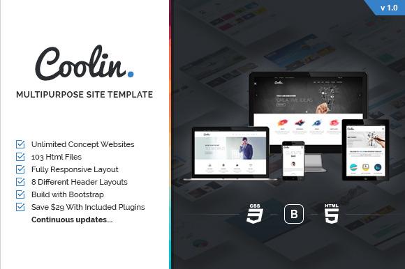 Coolin Multipurpose Site Template