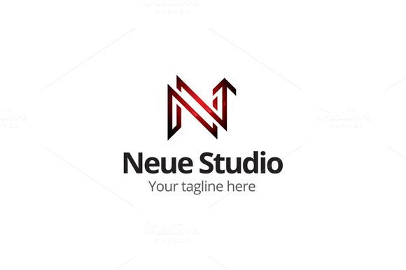Neue Studio N Letter Logo