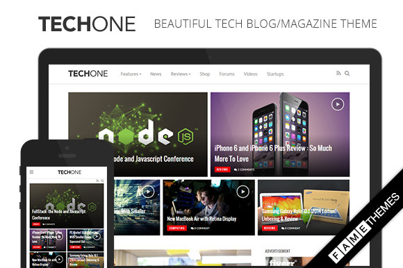 Techone Tech Magazine Theme