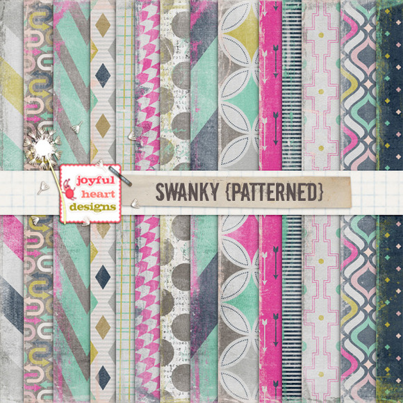 Swanky {patterned} 20% Off