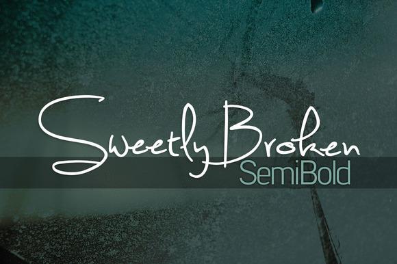 Sweetly Broken Semibold
