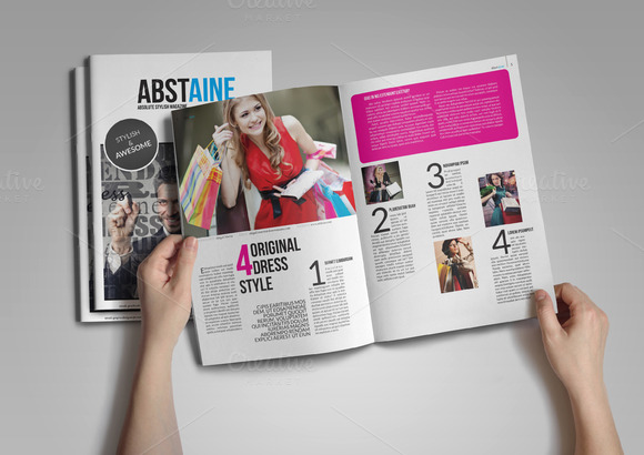 Absolute Stylish Magazine Template