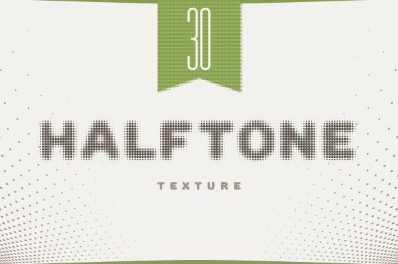 30 Vector Halftone Set