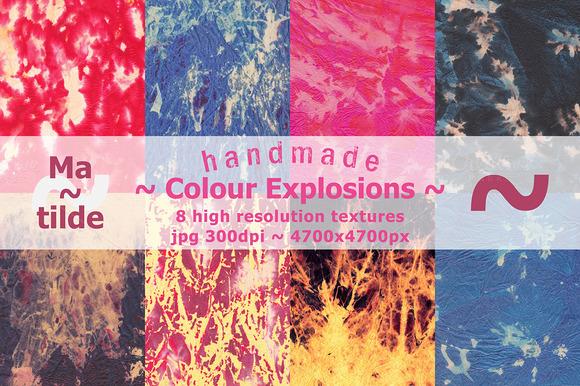 Handmade Colour Explosions