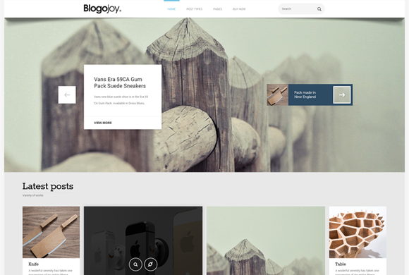 Blogojoy Minimalist Blog WordPress