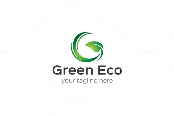 Green Eco G Logo