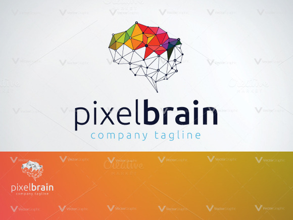 Pixel Brain Logo