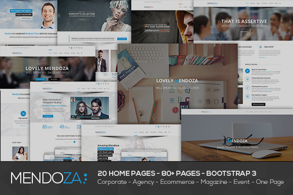 Mendoza Multipurpose HTML Template