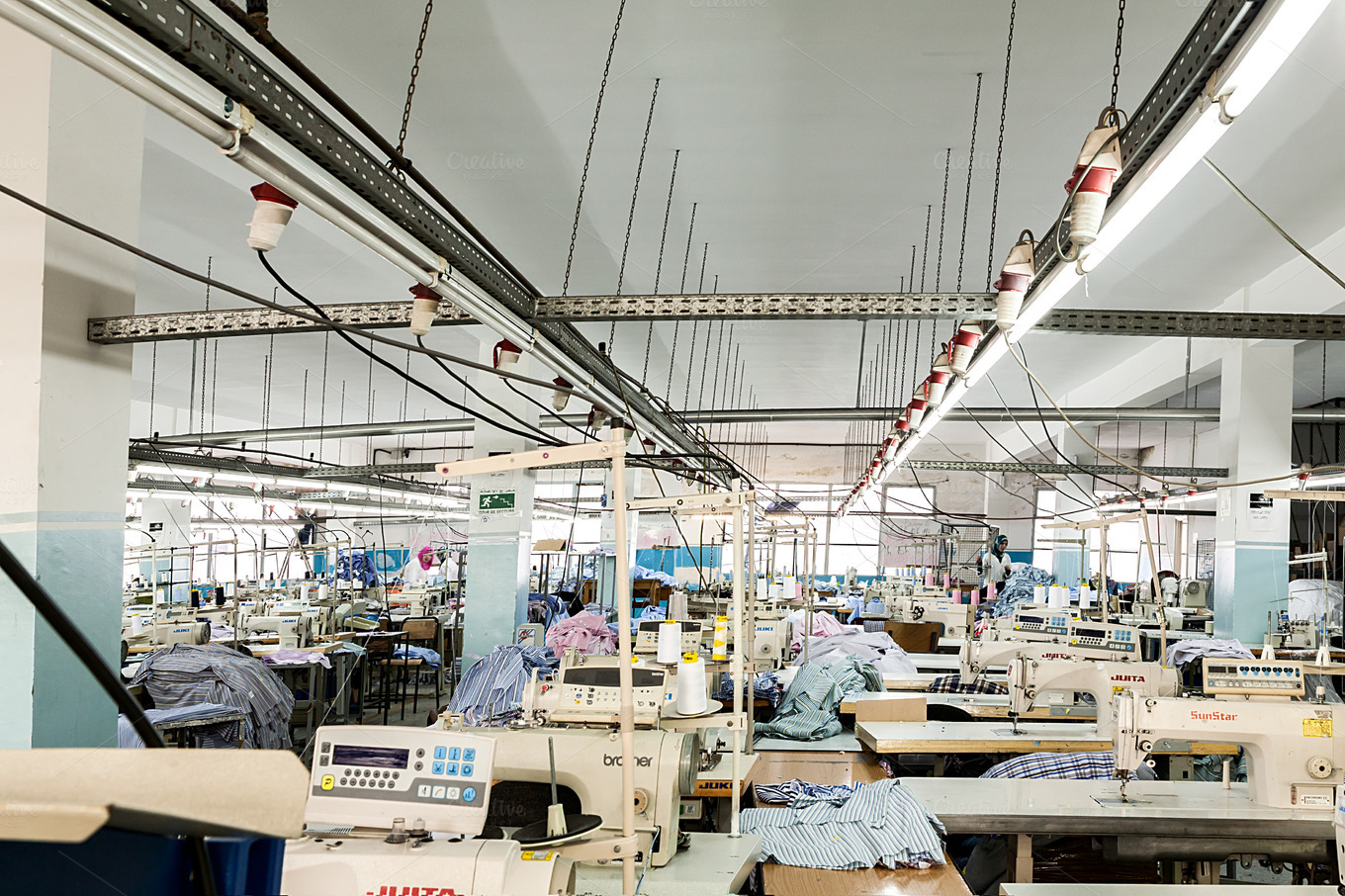 Ethics and the Fashion industry The chain of production in fashion industry