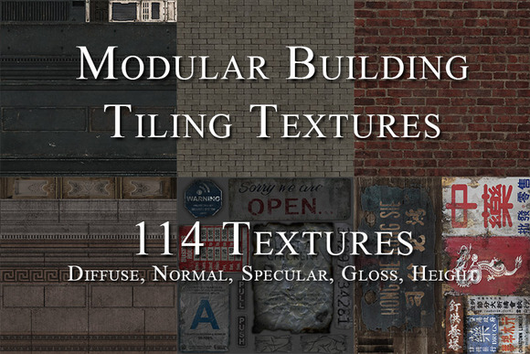 Textures Buildings Decals