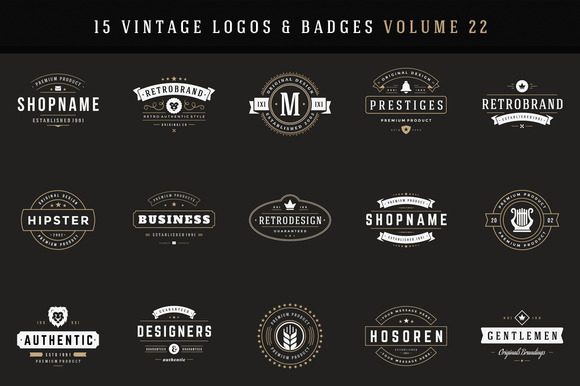 20% Off Retro Logotypes