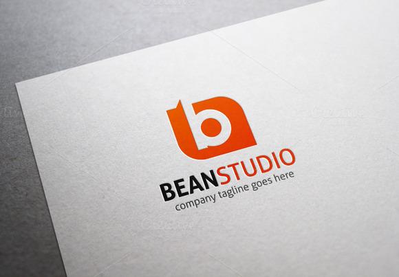 Bean Studio B Letter Logo