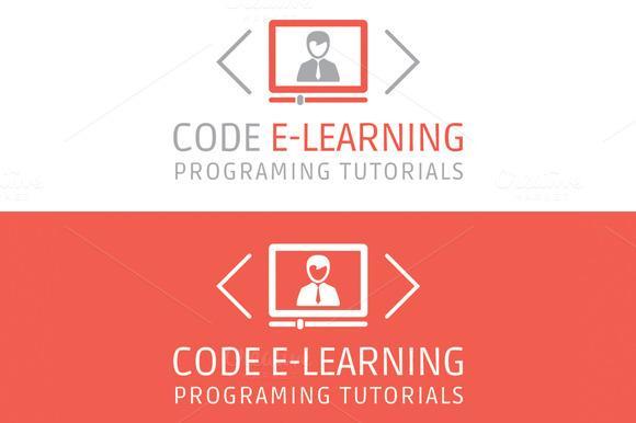 Code E-Learning Video Tutorials Logo