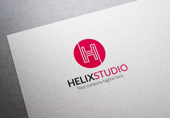 Helix Studio H Letter Logo