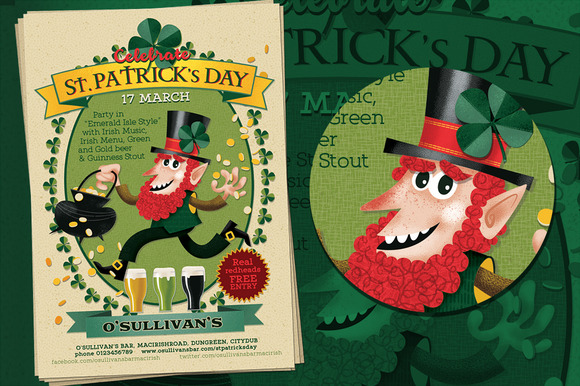Irish Poster St.Patrick S Day