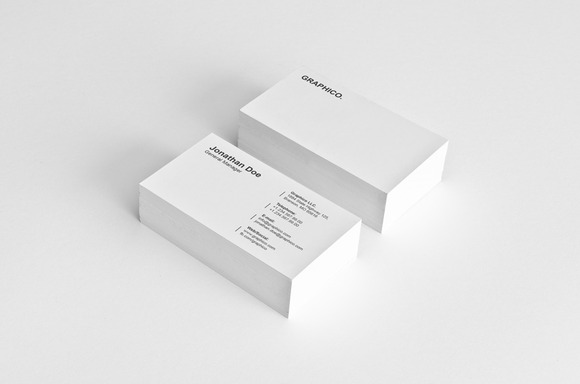 Simple Corporate Business Card 16