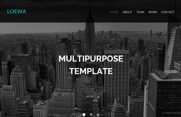 Loewa Muse Theme HTML