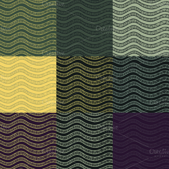 Elegant Contrast Vector Patterns