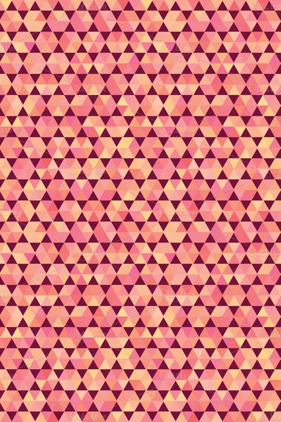 Polygon Style Vector Pattern