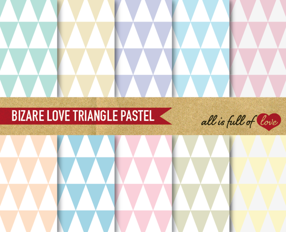 Digital Scrapbooking Patterns Pastel